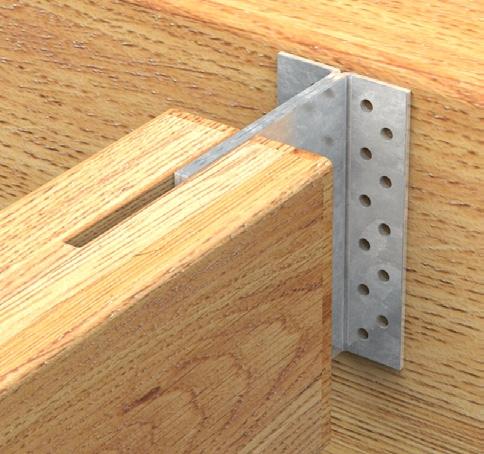 Ancoraggio travi in legno alla muratura
