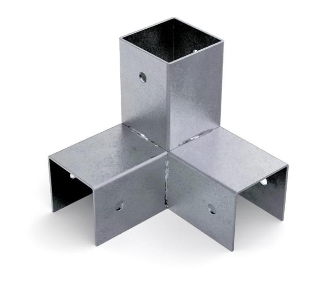 Accessori Per Gazebo In Legno.Accessori Per Gazebi E Recinzioni Per Costruzioni In Legno Giunti A