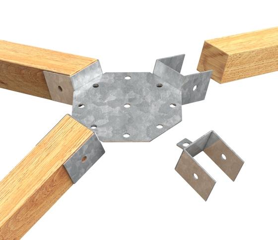 Accessori Per Gazebo In Legno.Accessori Per Gazebi E Recinzioni Per Costruzioni In Legno Kit