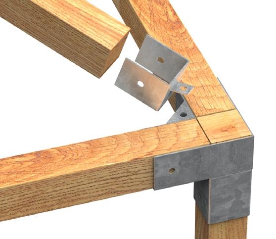 Accessori per gazebi e recinzioni per costruzioni in legno for Costruire un gazebo in ferro