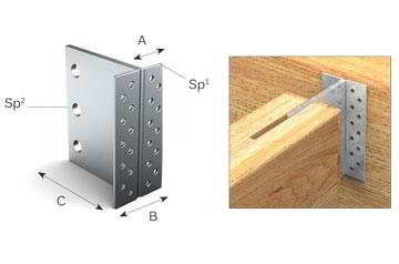 Ferramenta per la costruzione di case in legno adveco for Nuove planimetrie per la costruzione di case